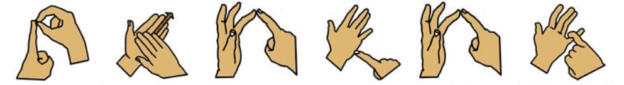 Photos in British Sign Language